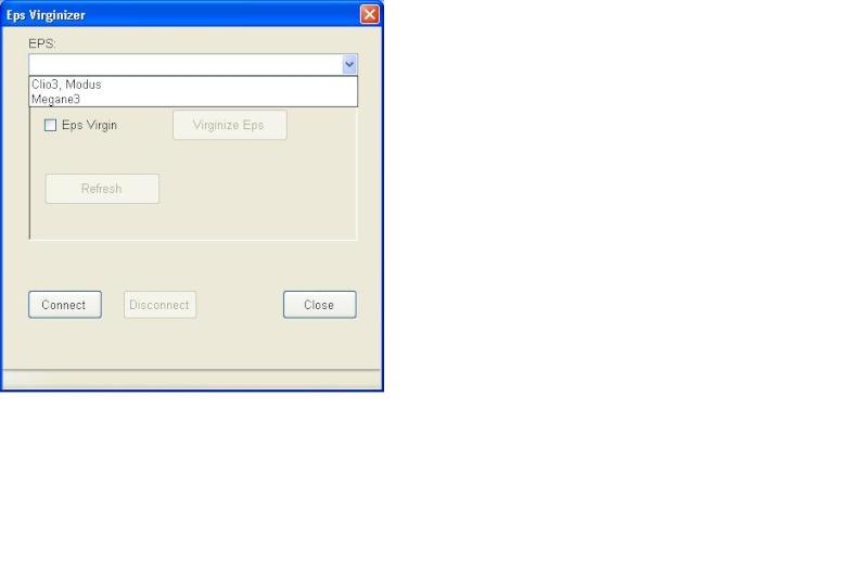 un nouveau logiciel qui remplace le DDT2000, qui s'appelle Renolink Eps10