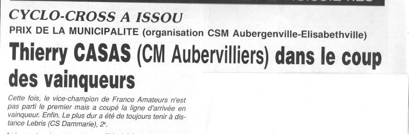 Coureurs et Clubs de janvier 1990 à octobre 1993 00137
