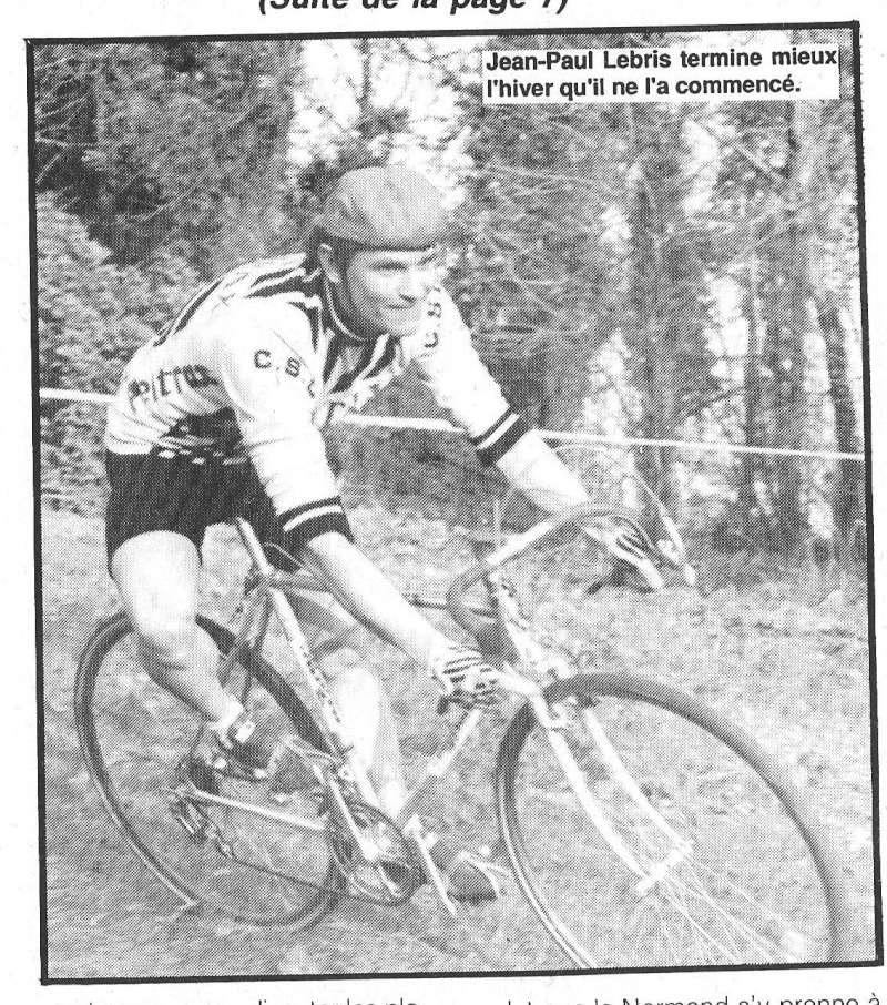 Coureurs et Clubs de janvier 1990 à octobre 1993 00230