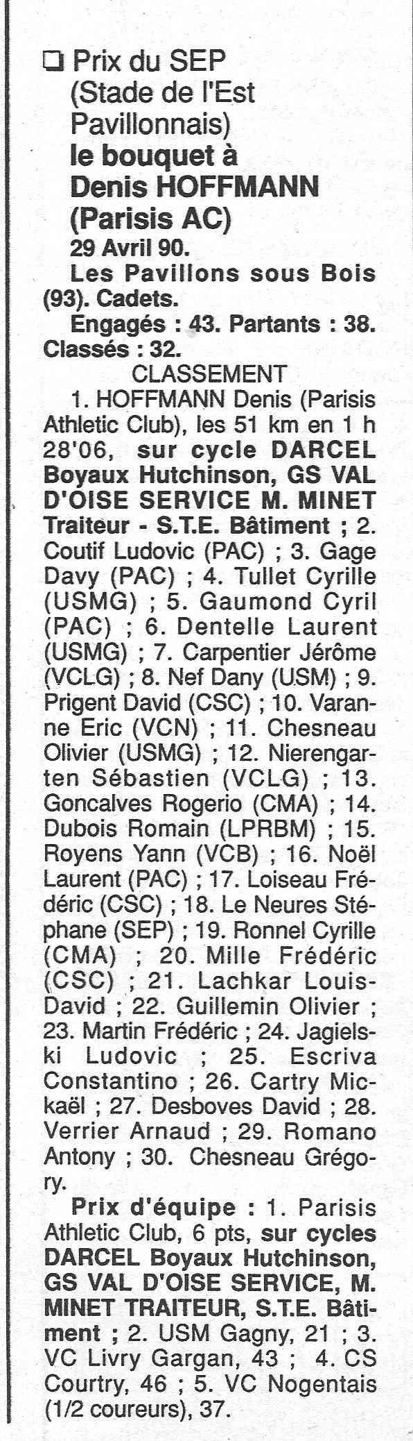 Coureurs et Clubs de janvier 1990 à octobre 1993 - Page 4 00831