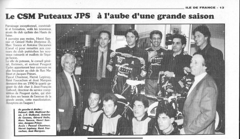 Coureurs et Clubs de janvier 1990 à octobre 1993 01216