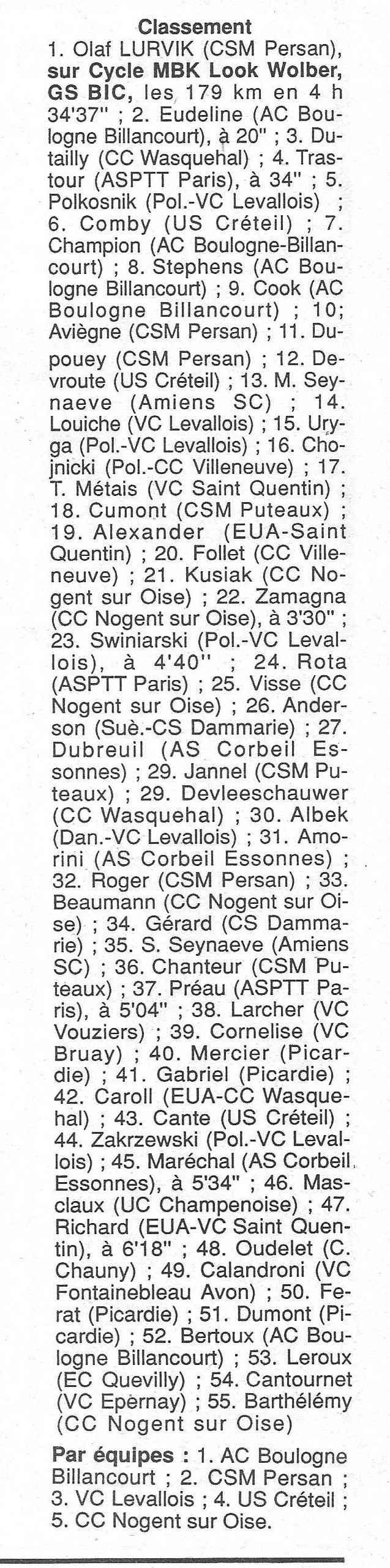CSM.Persan. BIC. Toute une époque de janvier 1990 à novembre 2007 - Page 2 1990_112