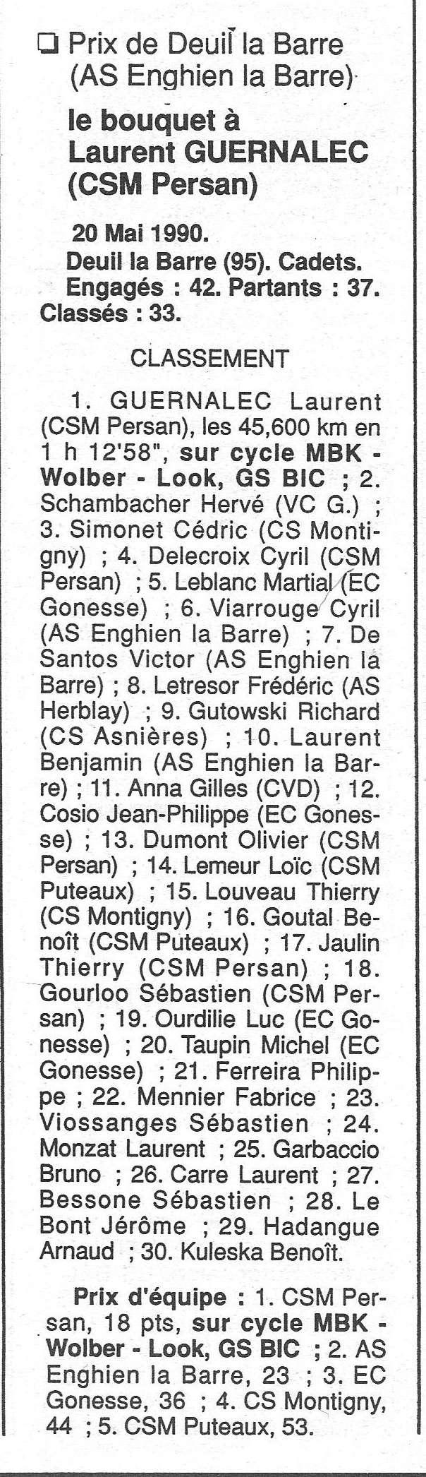 CSM.Persan. BIC. Toute une époque de janvier 1990 à novembre 2007 - Page 2 1990_114
