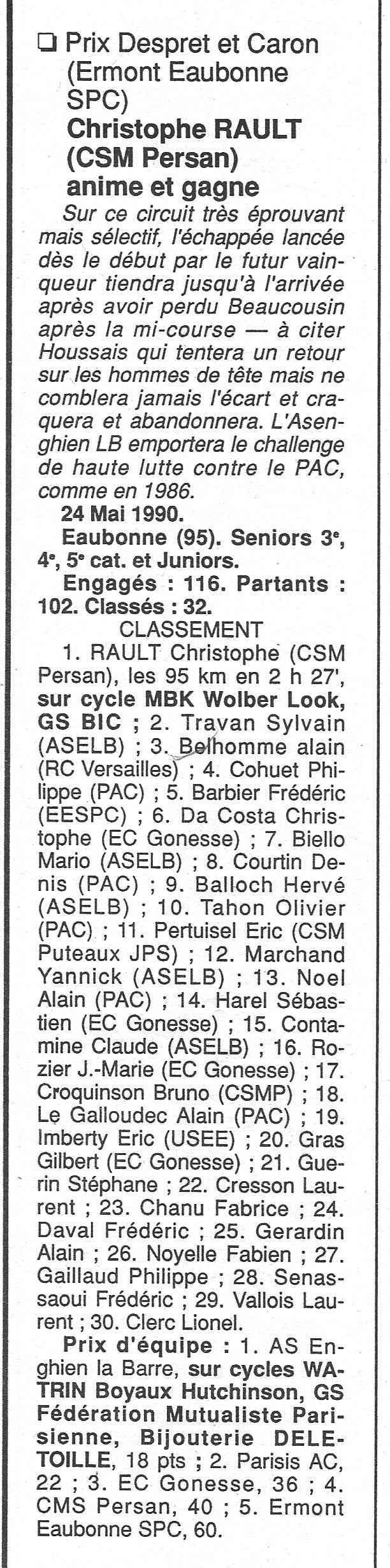 CSM.Persan. BIC. Toute une époque de janvier 1990 à novembre 2007 - Page 2 1990_123