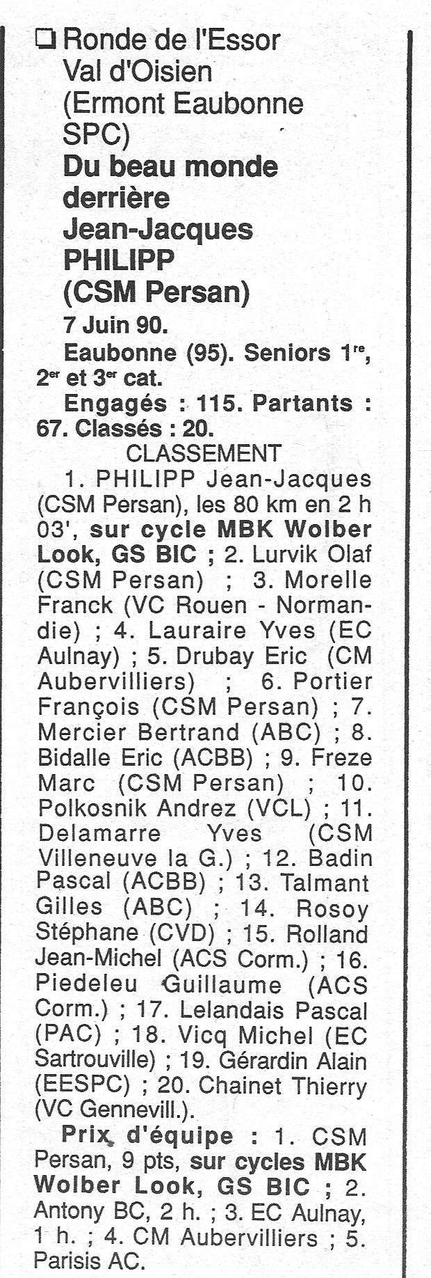 CSM.Persan. BIC. Toute une époque de janvier 1990 à novembre 2007 - Page 2 1990_141
