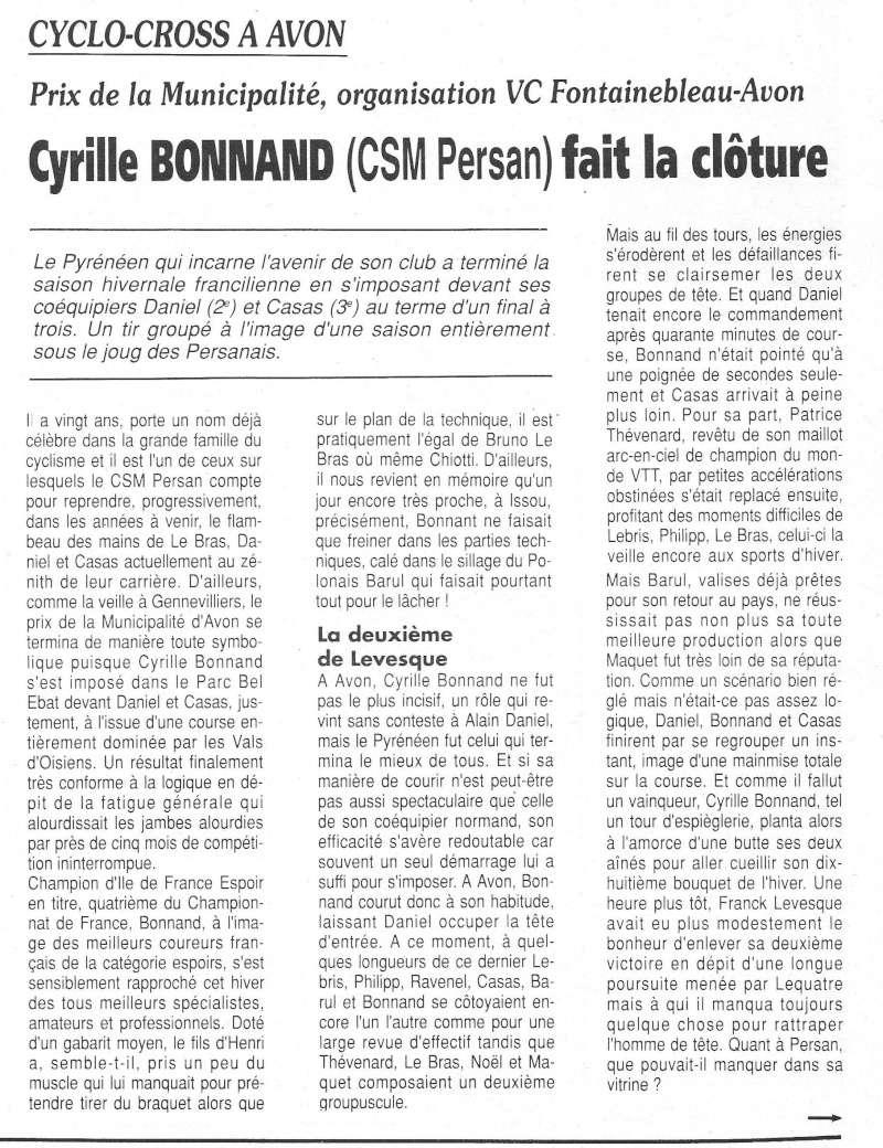 CSM.Persan. BIC. Toute une époque de janvier 1990 à novembre 2007 - Page 6 1991_067