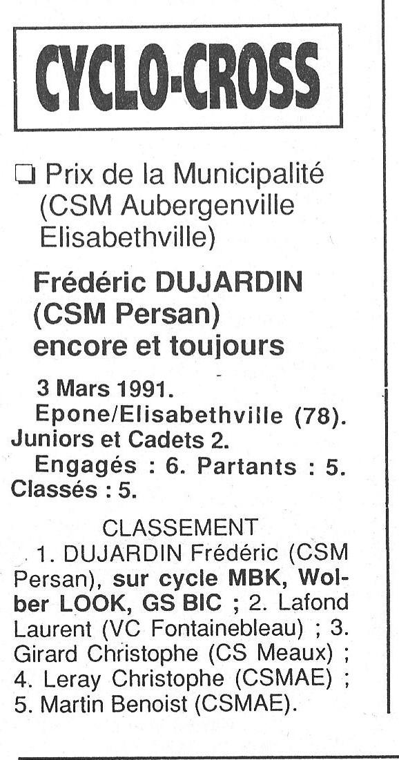 CSM.Persan. BIC. Toute une époque de janvier 1990 à novembre 2007 - Page 6 1991_072