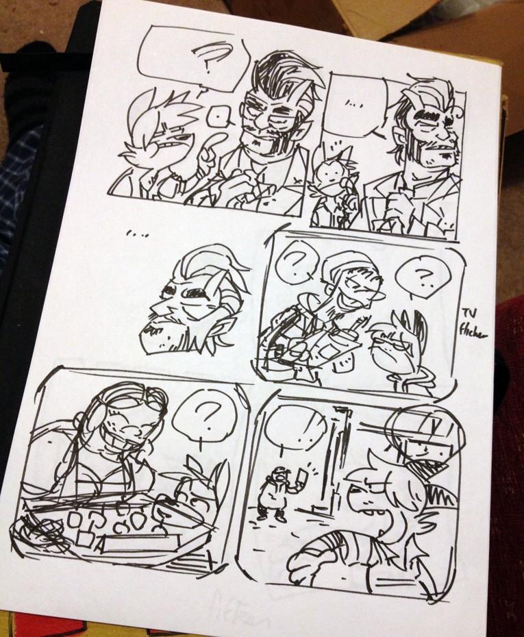 Should've taken that left turn at Satellitesoda - Page 2 Comic10