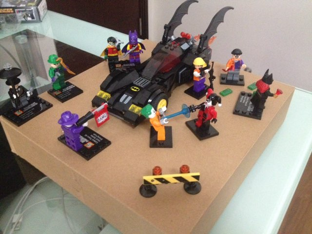 Réalisations en Lego Batman10