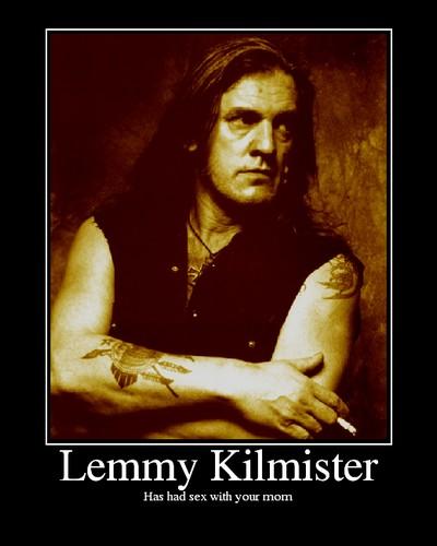 Lemmy  40 fucking years of rock'n'roll !!! Lemmyk11