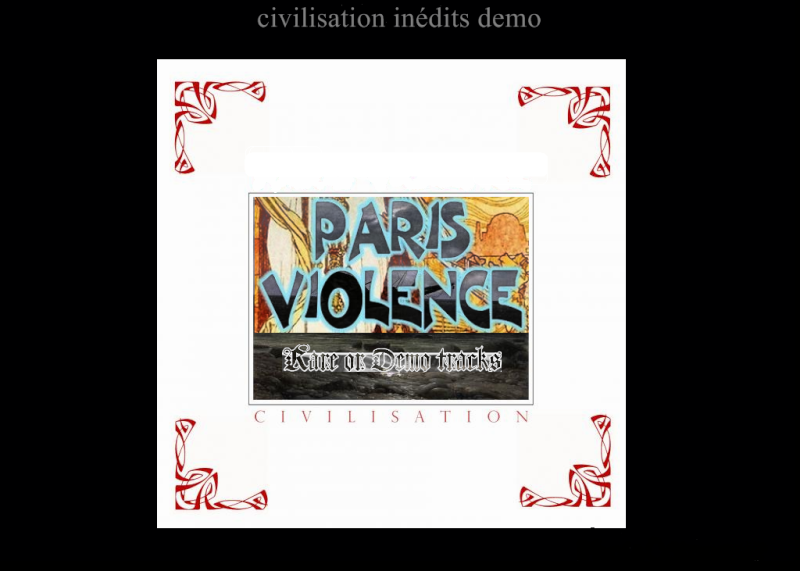 Logo Paris Violence Recto10