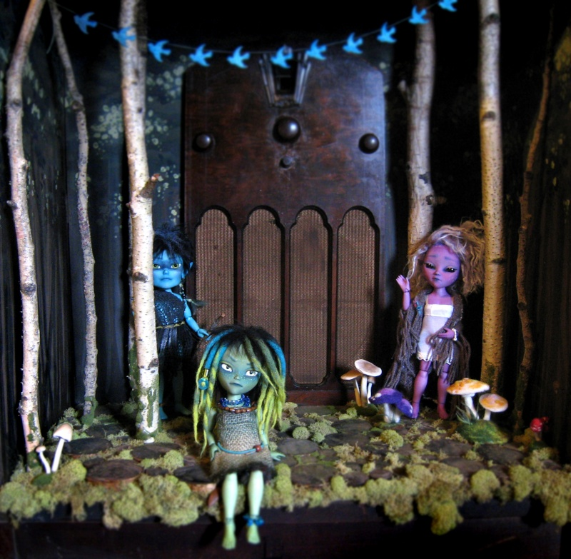 Magical foresty diorama of magicalness Img_6413