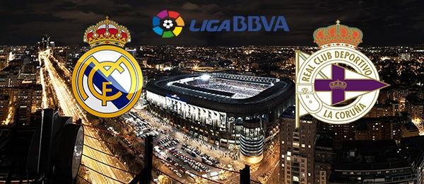 Real Madrid vs Deportivo La Coruña Fe10