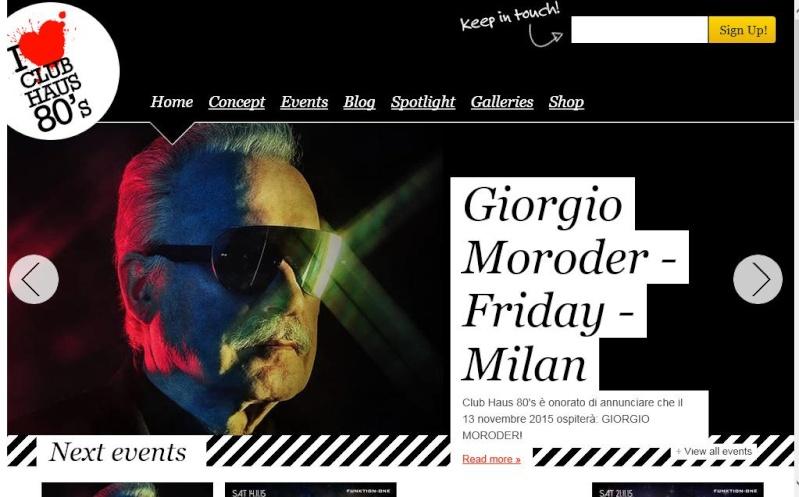 Questa sera il Mito Giorgio Moroder diventa realtà  Morode10