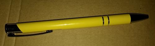 Kugelschreiber-Set Cosima 10-Stück aus Metall Gelbev10