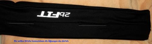2bFIT Jogging Gürtel – Hüfttasche Vorder37