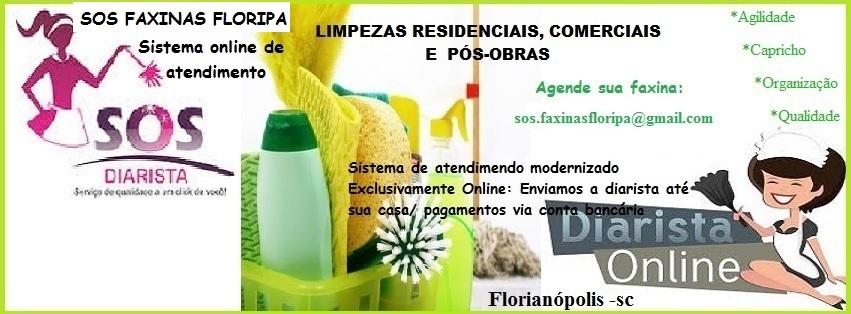 SOS Faxinas Floripa
