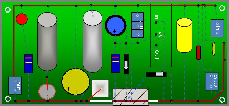 Alimentatore con doppio LT1083 - componenti e assemblaggio - Pagina 2 Layout10