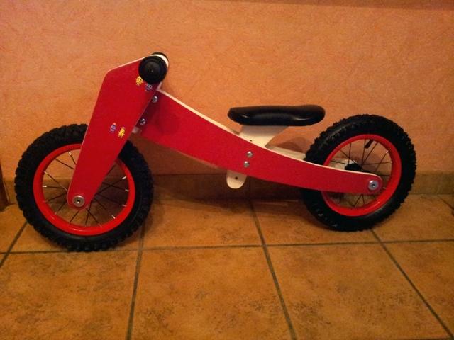 Draisienne ou vélo sans pédale pour mon petit fils 20160118
