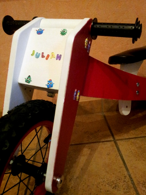 Draisienne ou vélo sans pédale pour mon petit fils 20160120