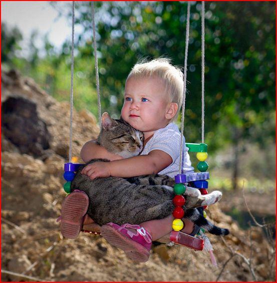 Des photos réconfortantes prouvent que vos enfants ont besoin d'animaux Comme_10