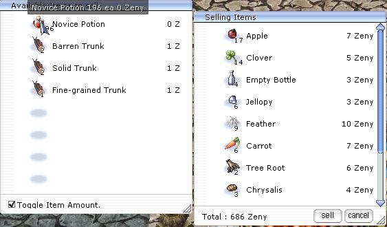 Ragnarok Online : Débuter sur le serveur Fragment of Yggdrasil Screen25