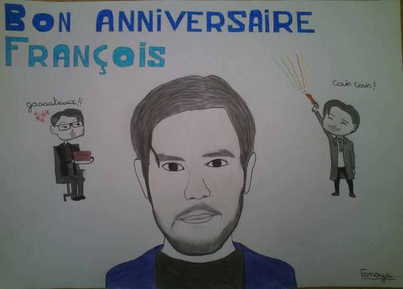 [Cadeau] Anniversaire de François Descraques le 10 février 2016 ! Img_2010
