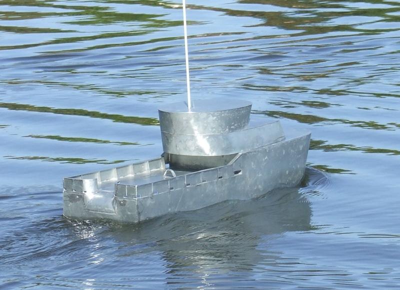 Chalutier pêche arrière Chalut19