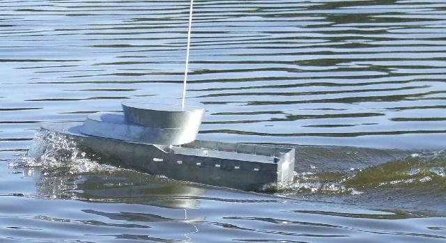 Chalutier pêche arrière Chalut20