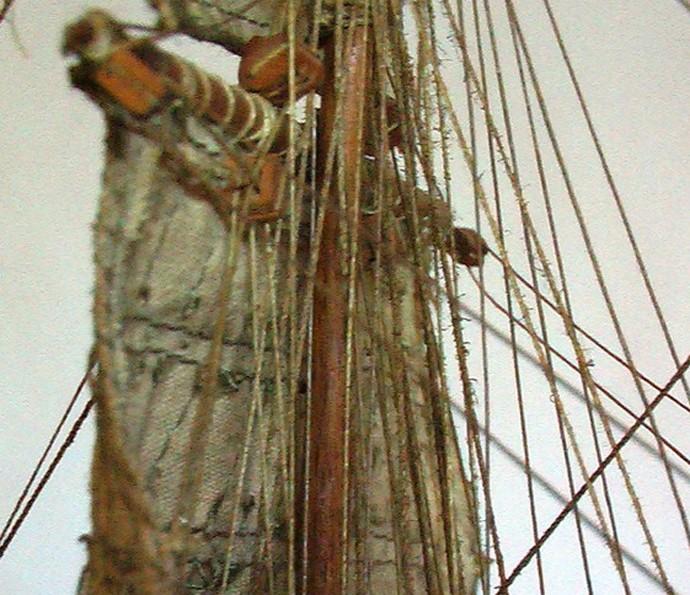 LA TOULONNAISE, goelette de 1823 au 1/75 par parellum, sous voiles, et photos Musée de la Marine Toul410