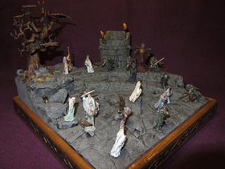 Les dioramas de la Terre du Milieux  18052110