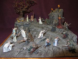 Les dioramas de la Terre du Milieux  18052111