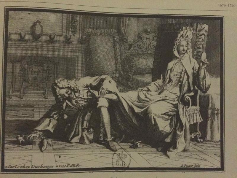 Héritage de Louis XIV dans l'histoire de la mode & textiles Eleg11