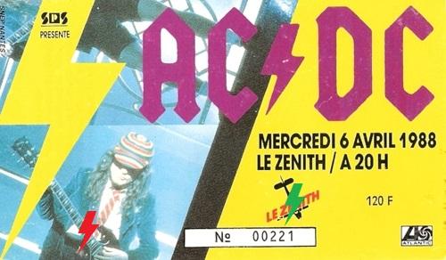 1988 / 04 / 06 - FRA, Paris, Le zénith 06_04_10