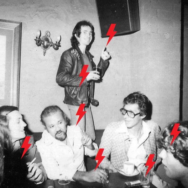 1976 / 12 / 06 - AUS, Melbourne, Little Reata Mexican Restaurant 225
