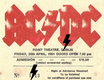 1991 / 04 / 26 - IRL, Dublin, The point 26_04_10