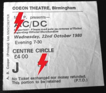 1980 / 10 / 22 - UK, Birmingham, Odeon Theatre Bbb10
