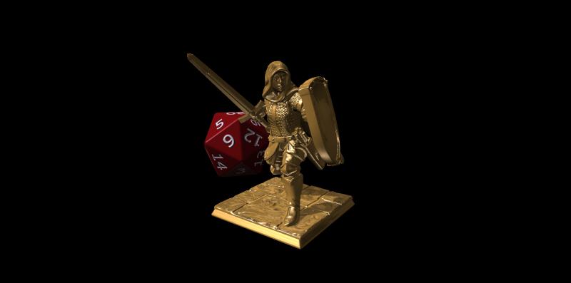 Hero Forge. Bronze10