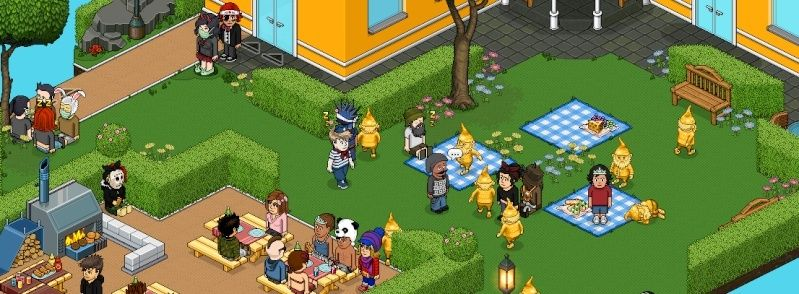 Invasione di Gnomi Dorati su Habbo Scherm13