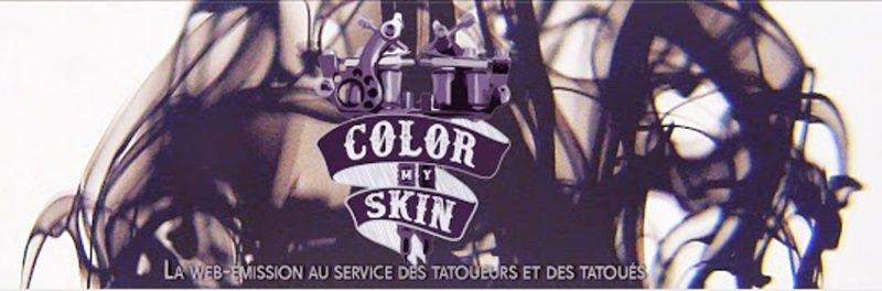 Color My Skin, l'émission qui vous immerge de façon inattendue dans l'univers du tatouage ! Par Precila Rambhunjun                                               Captur24