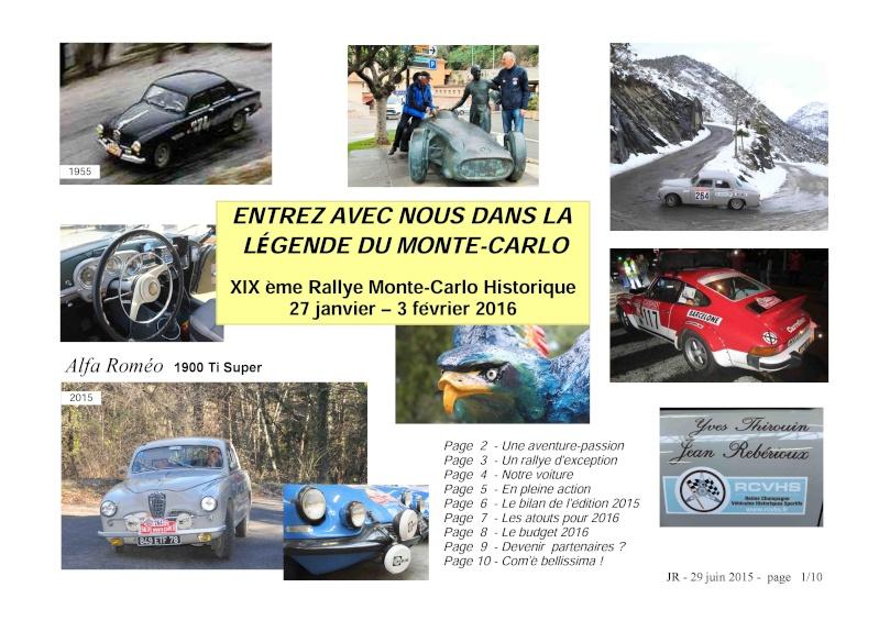 Rallye Monte Carlo Historique 2016 - Benoît/Stéphane - Page 7 000110