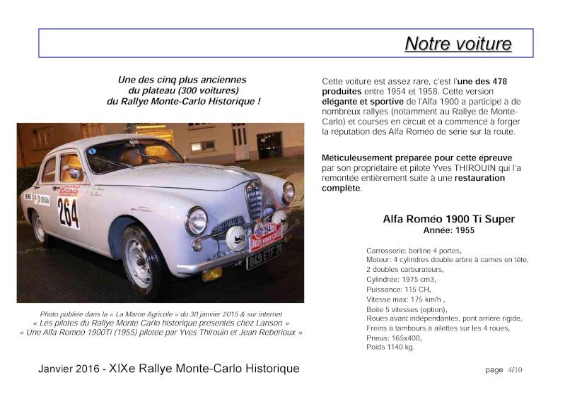 Rallye Monte Carlo Historique 2016 - Benoît/Stéphane - Page 7 000410