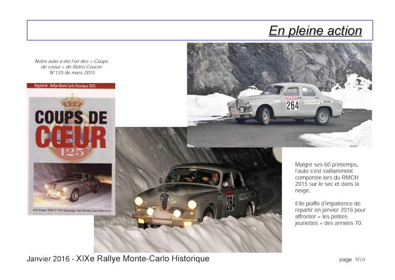 Rallye Monte Carlo Historique 2016 - Benoît/Stéphane - Page 7 000510