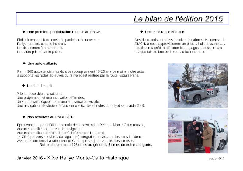 Rallye Monte Carlo Historique 2016 - Benoît/Stéphane - Page 7 000610