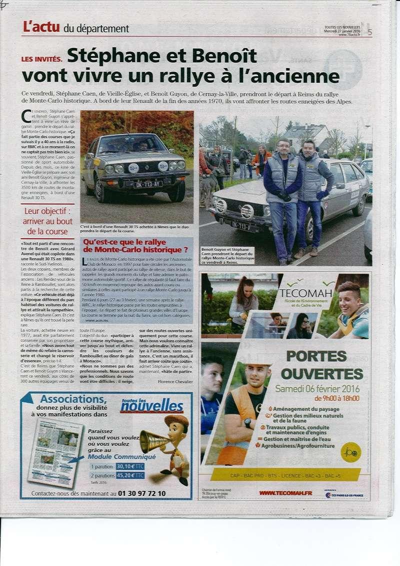 Rallye Monte Carlo Historique 2016 - Benoît/Stéphane - Page 7 Benoit10