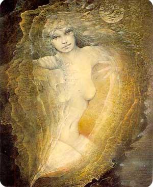 cartes des deesses  Venus10