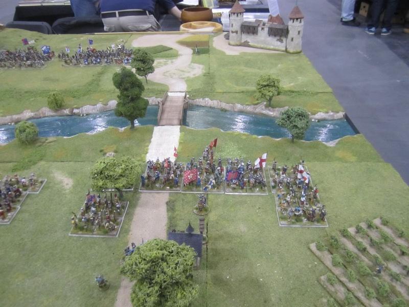 Reconstitution de la bataille de Cravant (1423) Cravan12