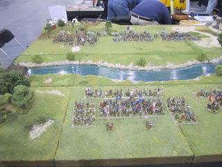 Reconstitution de la bataille de Cravant (1423) Cravan14
