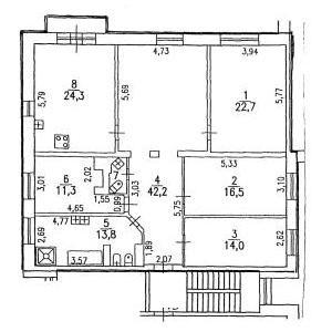 4 комнатная квартира в Выборгском районе, Санкт-Петербург Oaaeia10