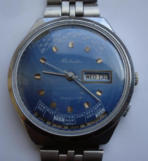 Connaissez vous cette marque de montre russe Raketa14
